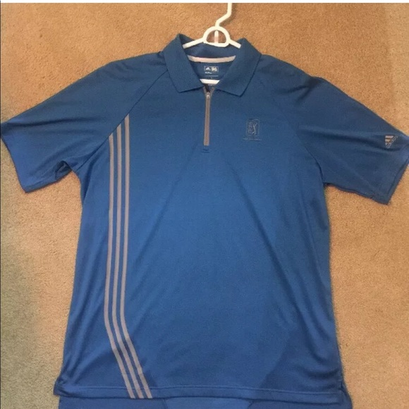 Adidas Golf ClimaCool francés Azul camisas polo gran poshmark